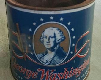 George Washington Great American Pipe Tobacco Can