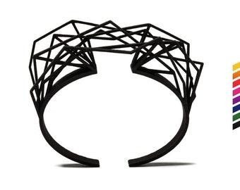 Solitaire bracelet, 3D printed nylon