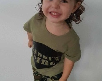 Daddy's Girl Camo Outfit