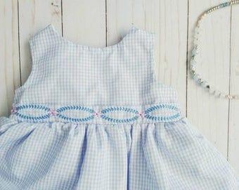 Lavender baby dress, pastel baby dress, 3-6 month purple dress, lavender newborn dress, lavender spring baby dress, baby spring dress girl