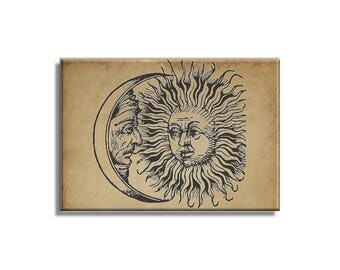 Dark Sun and Moon Magnet