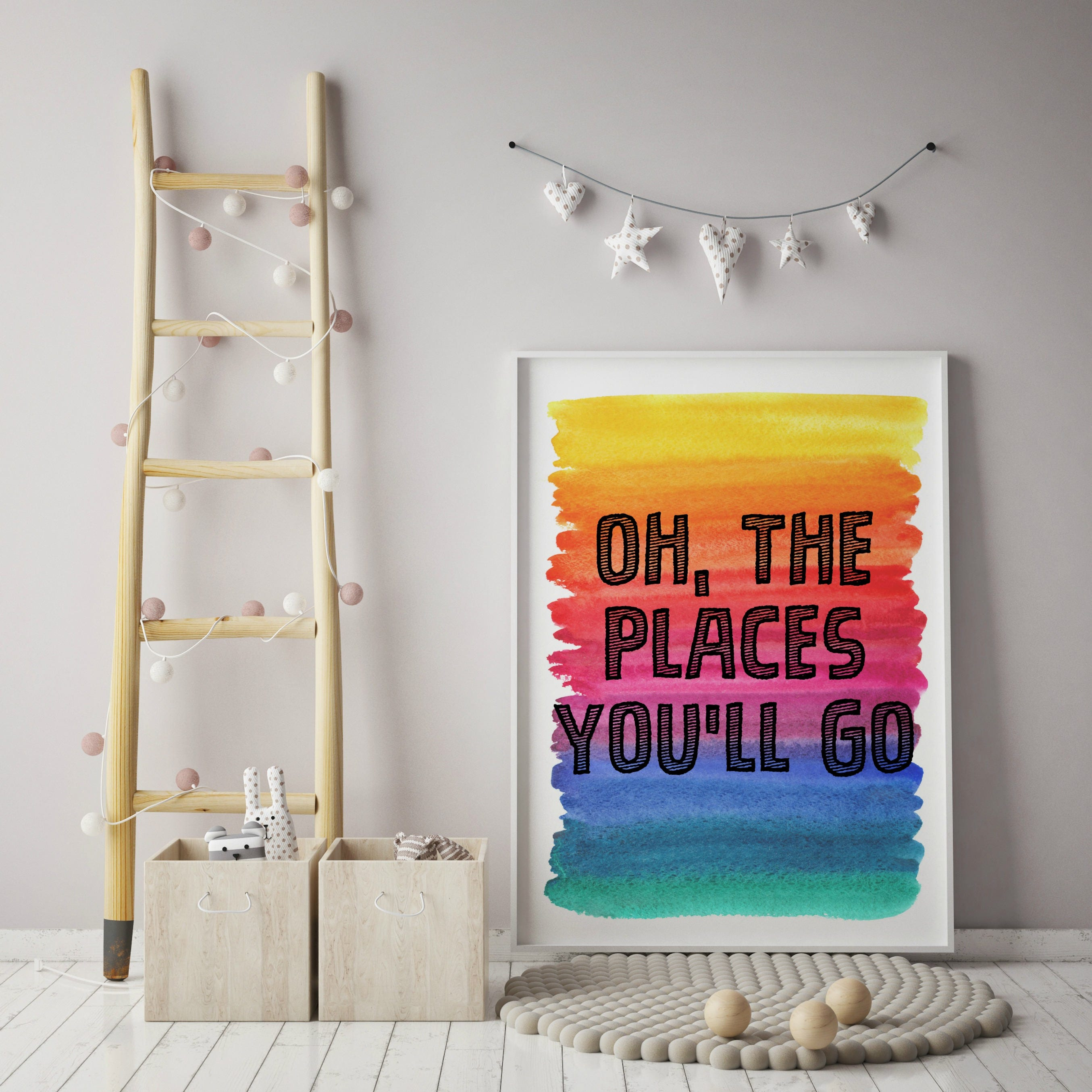 Dr Seuss Wall Decor oh, the places you'll go! dr. seuss wall art, dr. seuss art