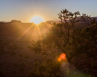 Landscape Photography- Capitol Reef Sunset, Southern Utah
