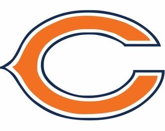Chicago Bears Decal Etsy - Custom vinyl decals chicago