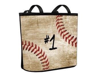 Baseball Purse Bucket Bag Handbag Style for Baseball Mom, Baseball Mom Bag, Baseball Swag, Baseball Shoulder Bag
