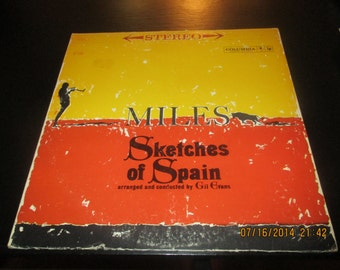 Miles Davis vinyl - Sketches of Spain - 2nd Edition - Album in VG++  Condition.