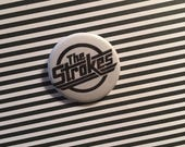 The Strokes pin - 1.5 inches