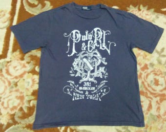 vintage POLO RALPH LAUREN t shirt fits to size S for womens