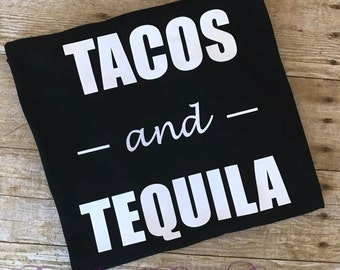 Tacos And Tequila Shirt, Tacos Shirt, Taco Tuesday Shirt, Tequila Shirt