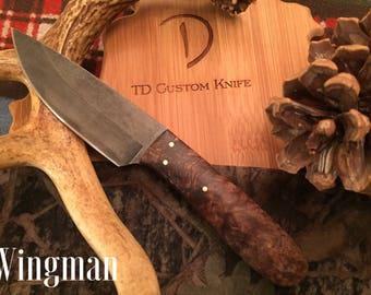 Hunting, Bushcraft, Survival,Knife, Best man's gift, Deer, Elk, Camping, FREE SHIPPING