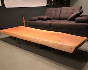 Live edge coffee table, coffee table, live edge table