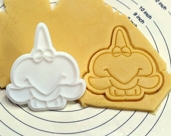 Cute Pterodatyl Dinosaur Cookie Cutter and Stamp