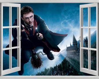 Harry Potter, Hogwarts wall sticker, decal, self-adhesive vinyl