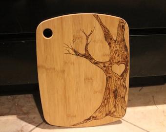 Personalized  Tree Cutting Board
