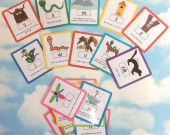 Phonics, Speed sounds set 1 flash cards, Reception flash cards, Nursery, Early years, Learning cards, EYFS, Teaching resource