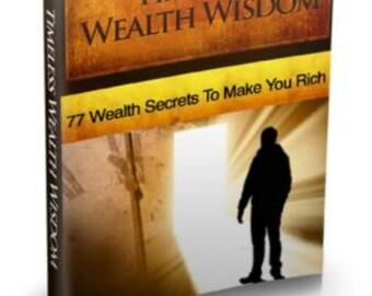 Timeless Wealth Wisdom E Book 77 Secrets That