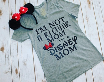 I'm Not A Regular Mom I'm a Disney Mom Shirt- disneyland- disneyworld- disney obsessed- disney trip outfit- gift for her- Mother's Day gift
