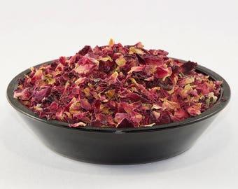 Rose petals tea 50gr, rose buds, pink rose buds, rose petals, pink rosefragrant rose, organic rose tea, leaf tea, gift for her, aromatic tea