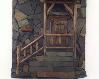 schist Stone House Ref. SH011