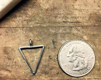 Large Inverted Triangle Pendant