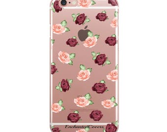 Rose iPhone Case, Floral iPhone Case, Flower iPhone Case, Rose Gold iPhone Case, Tropicacl iPhone Case, Summer iPhone Case, Cute iPhone Case