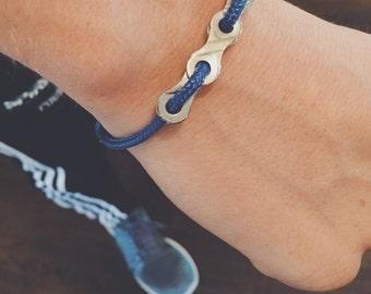 Adjustable Bike Chain Bracelet