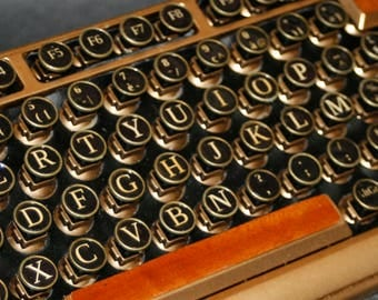 clavier d'ordinateur, Steampunk keyboard