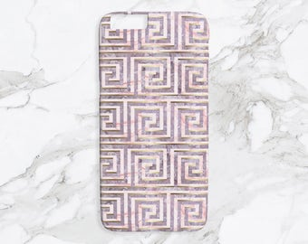 iPhone Case - Heirloom & Knot Poseidon Key - Lilac Print