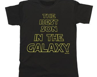 The Best SON In The Galaxy T-Shirt Mens Father Shirt