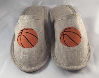 Women slippers, linen slippers for women, basketball slippers, light slippers, closed toe slippers, slippers for women, women's house shoes