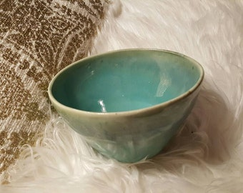 Small hand thrown bowl