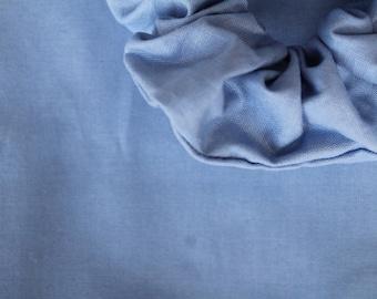 Blau - Light Blue Scrunchie