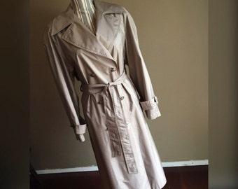 Vintage Sterling Bay Trench Coat