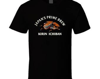Kirin Ichiban Beer T Shirt
