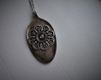 Vintage Spoon Necklace #929