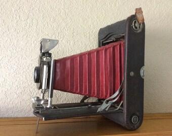 Vintage Eastman Kodak No. 3-A Folding Pocket Camera  Model B4 May 7, 1907