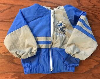 Vintage baby Detroit Lions NFL windbreaker