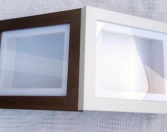 Shadow Box Frame, Box Frame, MDF Box Frame, Painted Box Frame, 3D display, Object Display,