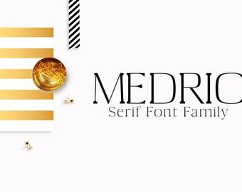 Medric Serif Font Family
