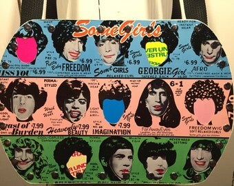 The Rolling Stones - Some Girls vinyl record purse