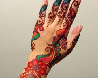 Color Golecha Henna
