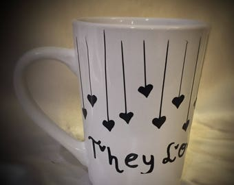 "Grateful Dead ""They Love Eachother"" Coffee Mug"