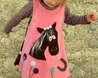 Dress, apron, tunic, dress horse, color of your choice