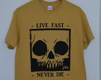 ZFA Live Fast, Never Die Tee