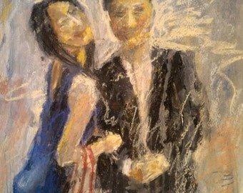 Couple Painting from Photograph