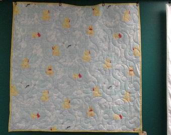 Handmade Rubber duckie Quilt