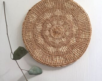 Woven Seagrass Trivet