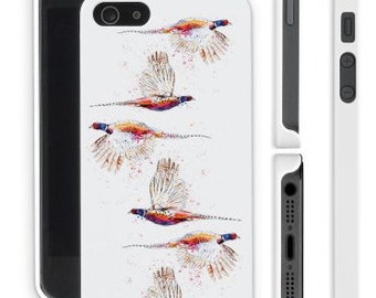 Pheasant Phone Case - iPhone 4  5 6 7 and Samsung s3 s4 s5 s6Pheasants Apple Cases Watercolour