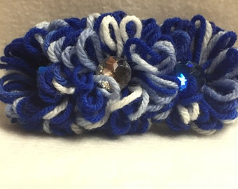 Hair Barrette - Blue (#005)
