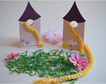 Tangled Invitations / Rapunzel Princess Invitations / Rapunzel Tower